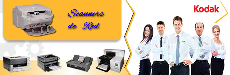 Kodak Scanners de Red