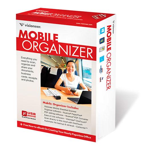Visioneer Mobile Organizer